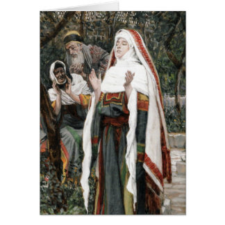 El Magnificat - tarjeta de felicitación