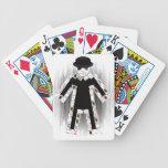 El mago barajas de cartas