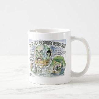 El mago de la deuda taza de café