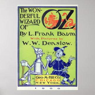 El mago de Oz maravilloso -- 1900 Poster