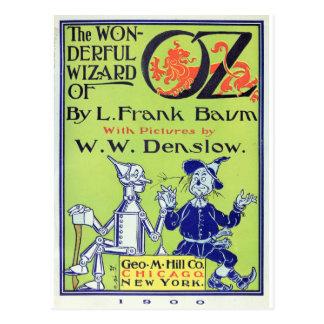 El mago de Oz maravilloso -- 1900 Postal