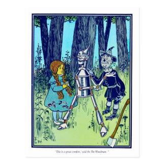 El mago de Oz maravilloso: Esto es un gran Comfor Postales
