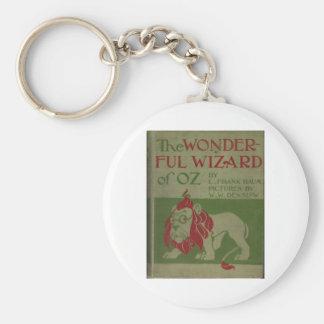 El mago de Oz maravilloso Llavero Redondo Tipo Pin