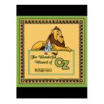 El mago de Oz maravilloso Postal