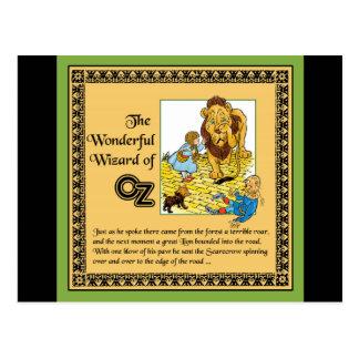 El mago de Oz maravilloso Tarjetas Postales