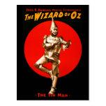 El mago de Oz - poster de teatro del vintage Postal