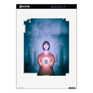 El mago joven iPad 2 calcomanía