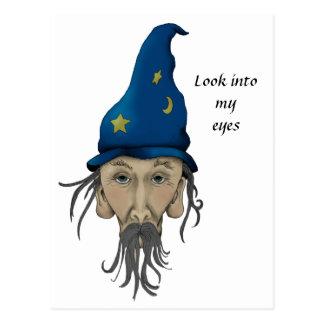 El mago le invita a un fiesta tarjeta postal