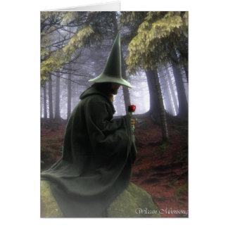 El mago tarjeta de felicitación