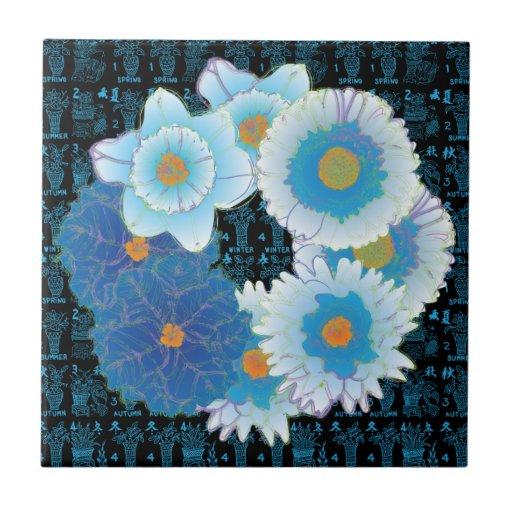 El Mah Jongg sazona la teja de los azules