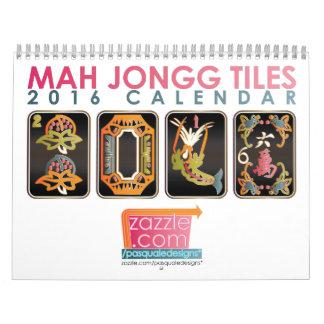 El Mah Jongg teja el calendario 2016