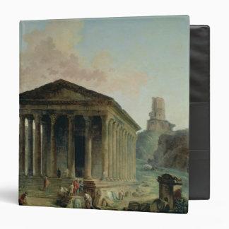 El Maison Carree con el Amphitheatre
