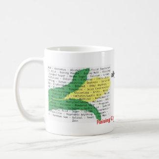 El maíz es en todo - lista del alergénico del maíz taza