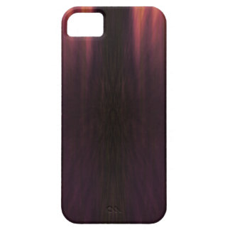 El mal anaranjado púrpura negro empañó la caja del funda para iPhone SE/5/5s