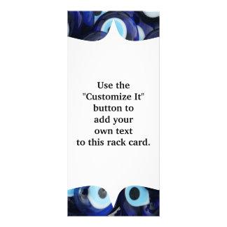 El mal de ojo de los amuletos de Nazar empiedra el Tarjeta Publicitaria Personalizada