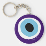 El mal de ojo llavero personalizado