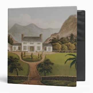 El Mal-Maison de Bonaparte en St. Helena, 1821