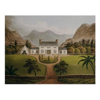 El Mal-Maison de Bonaparte en St. Helena, 1821 Postales