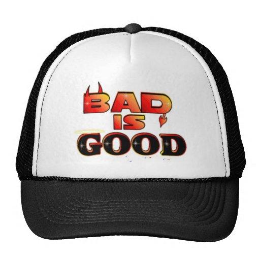 El malo es bueno gorra