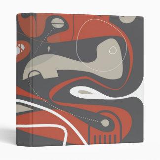 El malo soña la carpeta abstracta