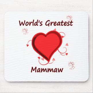 El mammaw más grande del mundo mouse pads