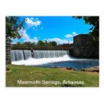 El mamut salta Arkansas Tarjetas Postales