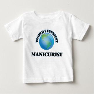 El manicuro más divertido del mundo camiseta