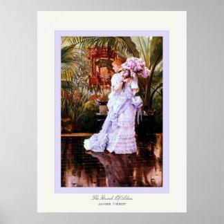 El manojo de bella arte del ~ de James Tissot del  Póster
