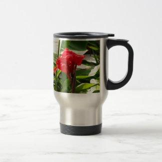 El manojo rojo FLORECE a revendedores de la Tazas De Café