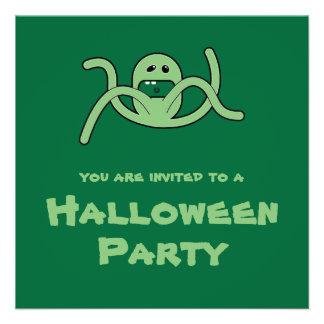 El manojo verde Halloween del Weirdo del Trickster Comunicados Personales