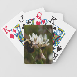 El manosear en el trébol; Ningún texto Baraja Cartas De Poker