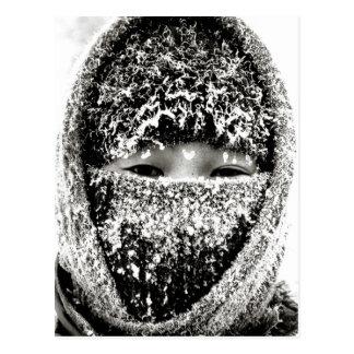 El mantener caliente invierno postal