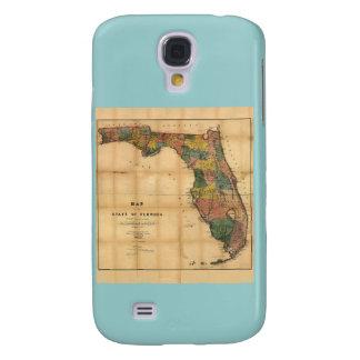 El mapa 1856 del estado de la Florida por Columbus Funda Para Galaxy S4