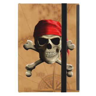 El mapa alegre del pirata de Rogelio iPad Mini Carcasa