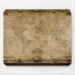 El mapa antiguo Mousepad de Colton Tapetes De Ratón