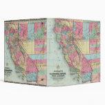 "El mapa de Bancroft de California, Nevada Carpeta 1 1/2"""