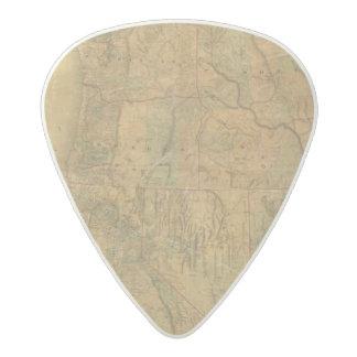 El mapa de Bancroft de los estados pacíficos