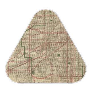El mapa de Blanchard de Chicago Altavoz