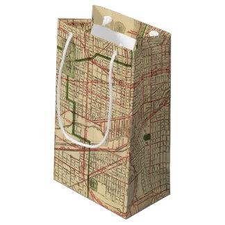 El mapa de Blanchard de Chicago Bolsa De Regalo Pequeña