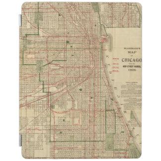 El mapa de Blanchard de Chicago Cubierta De iPad