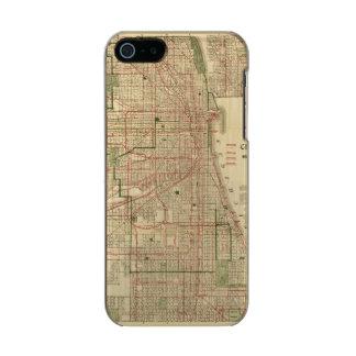 El mapa de Blanchard de Chicago Funda Para iPhone 5 Incipio Feather Shine