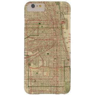 El mapa de Blanchard de Chicago Funda Para iPhone 6 Plus Barely There