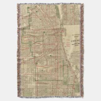 El mapa de Blanchard de Chicago Manta