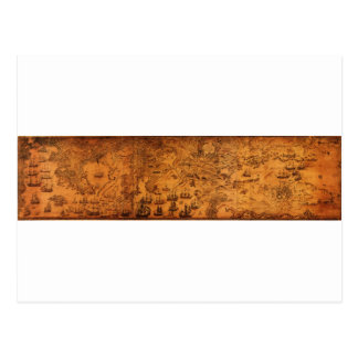 El mapa de Bockoune del bretón del cabo, Nueva Esc Postales