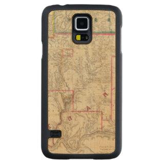 El mapa de Howe del distrito del aceite de Funda De Galaxy S5 Slim Arce