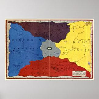El mapa de la onza póster