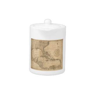 El mapa de las Antillas de Juan Cary (1783)