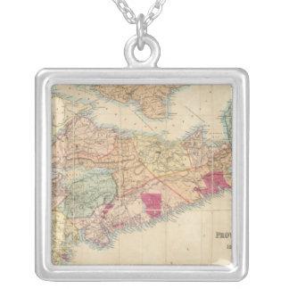 El mapa de Mackinlay de la provincia de Nueva Esco Colgante Cuadrado