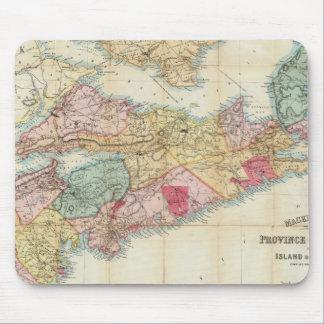 El mapa de Mackinlay de la provincia de Nueva Esco Tapetes De Ratones