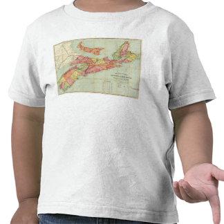 El mapa de Mackinlay de la provincia de Nueva Camisetas
